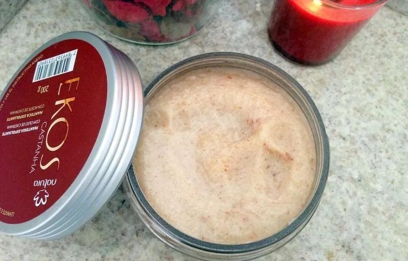 Hidratante Manteiga Esfoliante Com óleo Castanha Ekos 200g