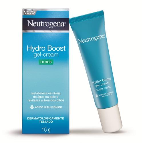 hidratante para olhos neutrogena hydro boost gel-cream 15g