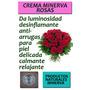Crema Natural Rosas Con Flores De Bach