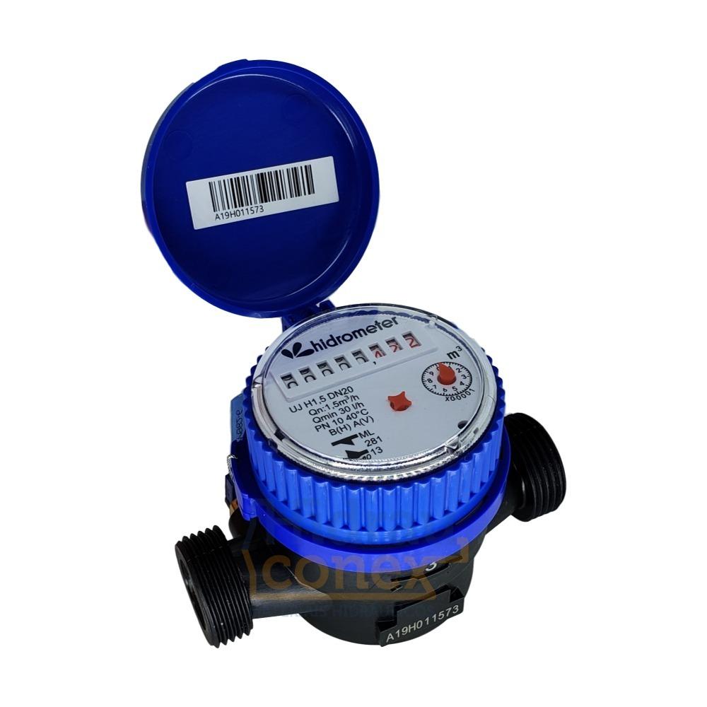 3547740c731 Hidrômetro Relógio Medidor De Água Unijato Composite 3 4 - R  69