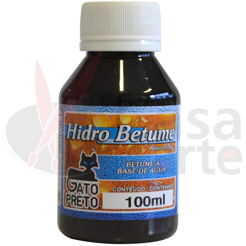hidro betume gato preto 100 ml