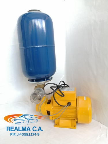 hidrocompacto bomba de agua 1/2 hp más kit pulmón 5 lts 65$