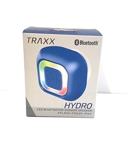 hidroelectrica traxx - altavoz de ducha con bluetooth led co