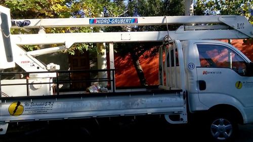 hidroelevador 13 mts de altura 2012 con sistema de seguridad