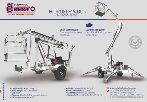 hidroelevador de arrastre mo9000/mo13000