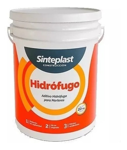 hidrofugo aditivo de morteros ceresita sinteplast 20kg unive