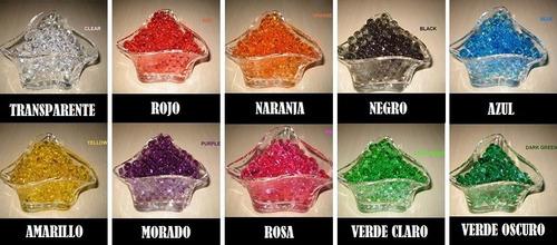 hidrogel, tierra magica o tierra cristal / paquete 10 gramos