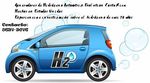 hidrógeno automotriz evolution