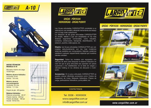 hidrogrua articulada cargolifter a5