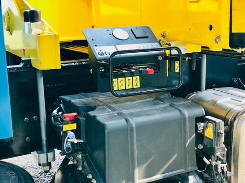 hidrogrua hyva hbr250 25 tnm peso equipo: 3000 kg anticipo!!