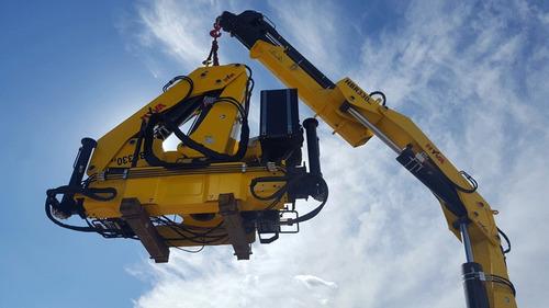 hidrogrua hyva hbr330 33 tnm peso equipo: 3370 kg anticipo!!