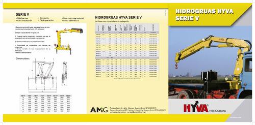 hidrogrua hyva hv227 20 tnm peso equipo: 2005 kg anticipo!!!