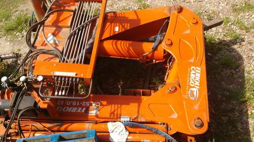hidrogrua usada ferioli ca 52000 con un año de uso 2011