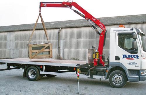 hidrogruas fassi f50 sobre camion