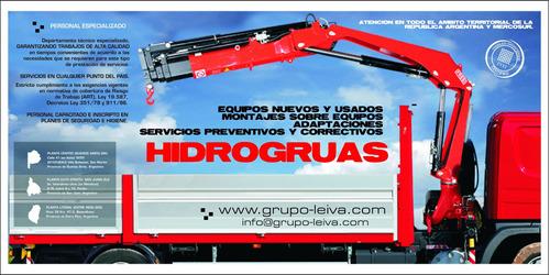 hidrogruas xcmg  (2 tn - 45 tn) venta service y reparación