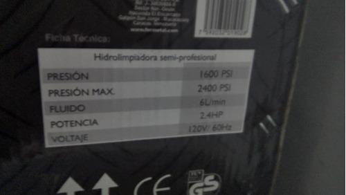 hidrojet fermetal 1600 psi