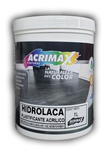 hidrolaca plastificante acrilico alta resistencia acrimax 1l