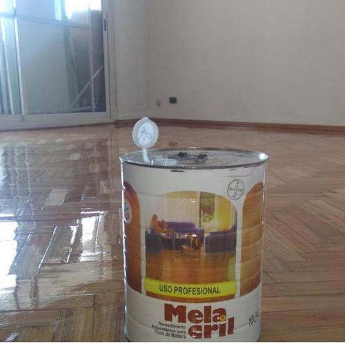 hidrolaqueado para piso parquet machimbre pinotea reparación
