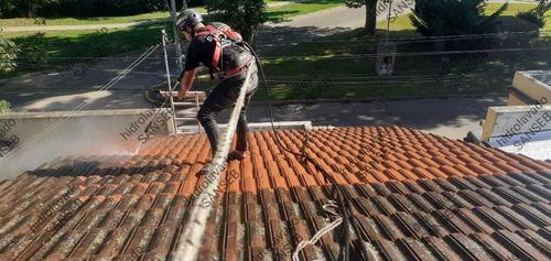 hidrolavado de tejas, fachadas, grafitis,veredas,monumentos.