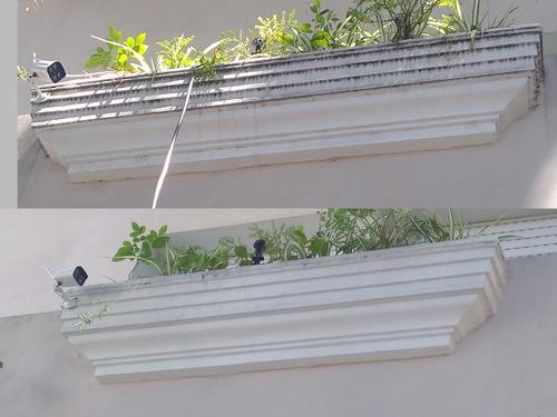 hidrolavado limpieza restauración de frentes pisos f.obra