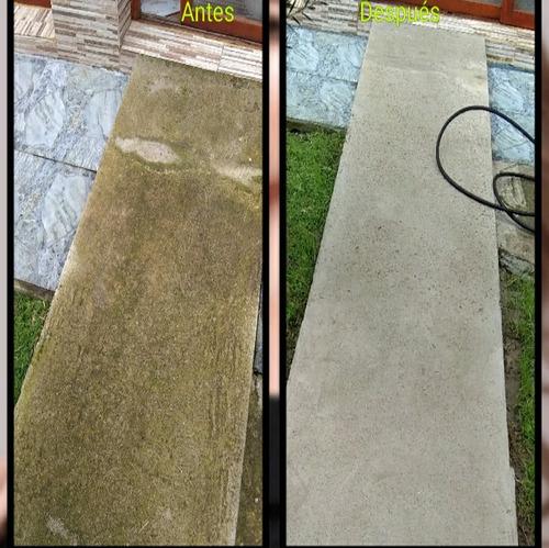 hidrolavado, reparaciones, pintura,etc, limpieza y calidad.