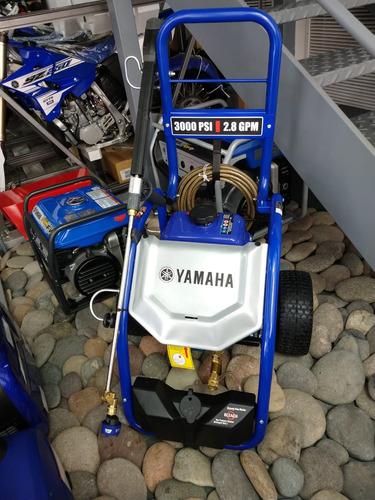 hidrolavadora a explosion yamaha 3000 psi 635 lts/h