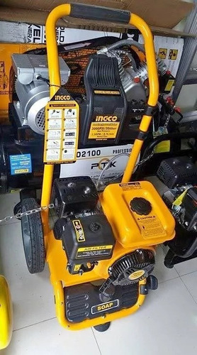hidrolavadora a gasolina 5.0 hp 3600 rpm ingco