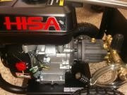 hidrolavadora a gasolina 6.5hp 2700psi marca hisa