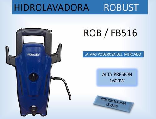 hidrolavadora alta presión potente 1600w 1550psi 1año garant