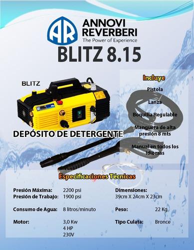 hidrolavadora annovi reverberi hidroherramientas 2200 psi