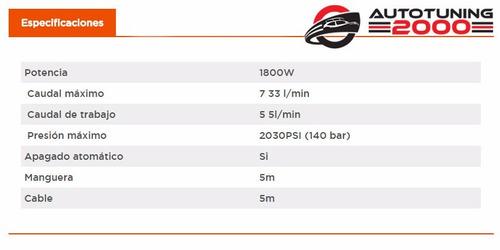 hidrolavadora black decker bw17 1700w 130 bar profesional