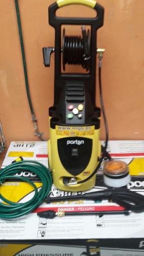 hidrolavadora electrica de 2.1hp 2600psi porten phi-0260
