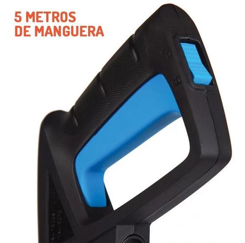 hidrolavadora gamma 127 autostop 100 bar 1400w elite + guantes 2 años garantia