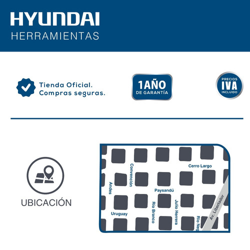 hidrolavadora hyundai 810h 140 bar .1700w