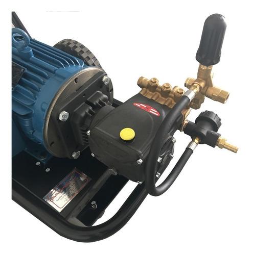 hidrolavadora industrial 5 hp auto lavado 2600 psi  220 volts 3 trifásica uso rudo apollo 5