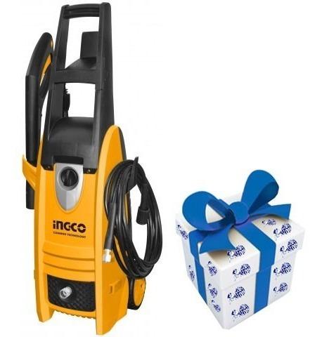 hidrolavadora ingco 150bar 1800w 6l/min hpwr18008 + regalo !