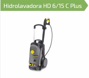 hidrolavadora karcher hd6/15c plus 4hp (alemana) herracor