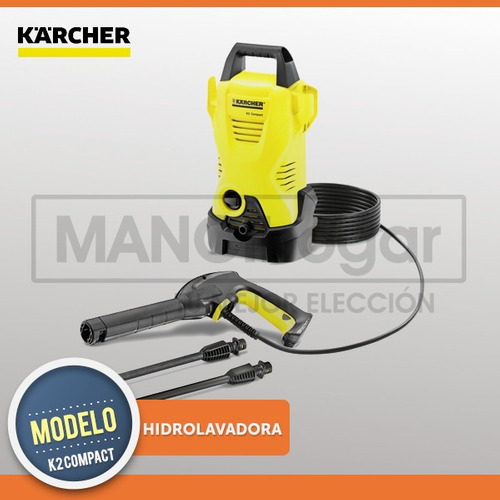 hidrolavadora karcher k2 compact 110bar 360l temperley envio