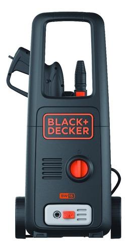 hidrolavadora rodante 1500w black + decker bw15
