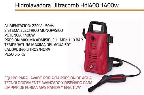 hidrolavadora ultracomb 1400w