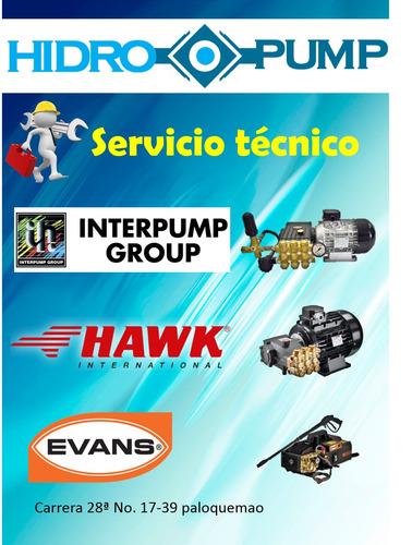 hidrolavadoras industriales - interpump - hawk-