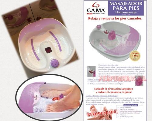 hidromasajeador para pies gama - spa masajeador fs606