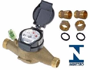 0f806072dfe Hidrometro Relógio Medidor De Água Medidor 1 2   - R  169