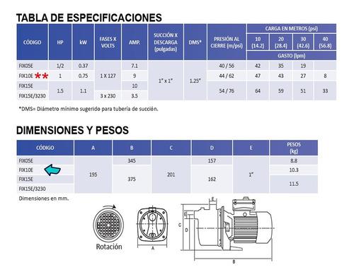 hidroneumatico aquapak 1 hp bomba fix tanque 50 litros