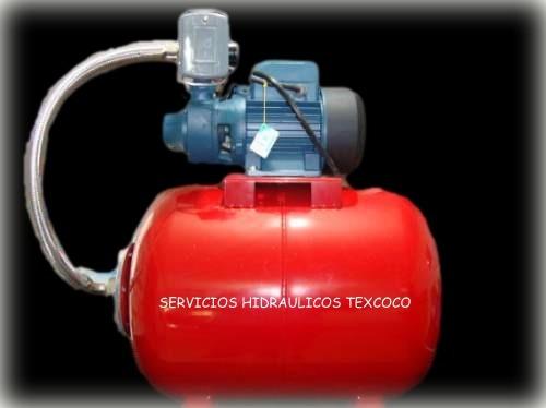 hidroneumatico de 100 ltscon bomba shinge de 3/4 hp