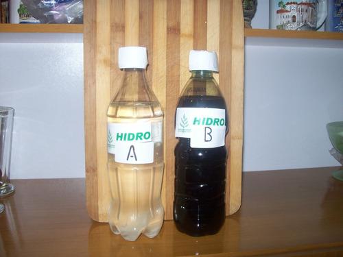 hidroponia solucion de nutrientes