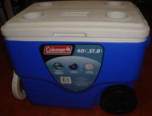hielera  coleman nueva. 37.8  litros