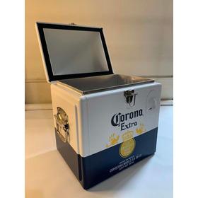 Hielera Corona Original En Aluminio