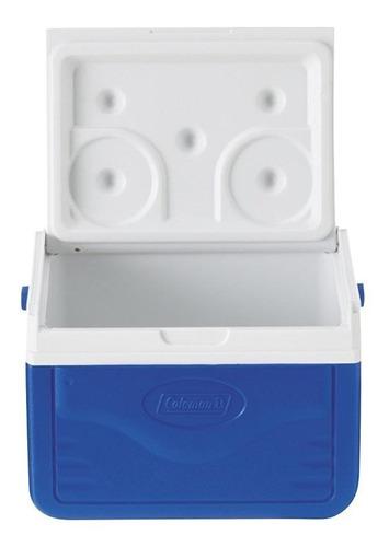 hielera de 5qt con agarradera azul coleman m5205-758g