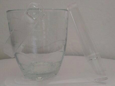 hielera de cristal  pasabahce